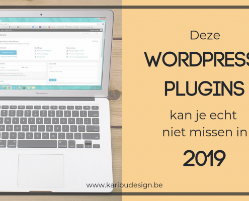 Beste WordPress plugins 2019