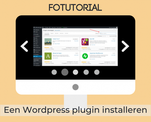 Een WordPress plugin installeren