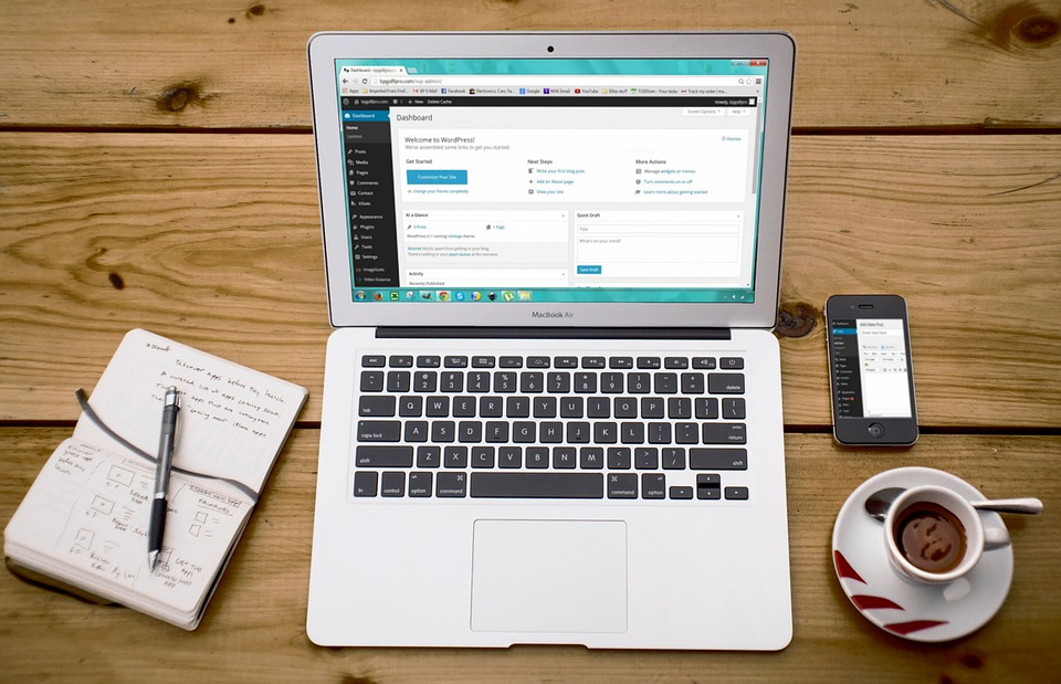 Webdesign met WordPress